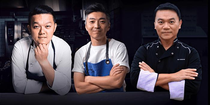 Kai Ho, Richi Lin, and Ian Kittichai