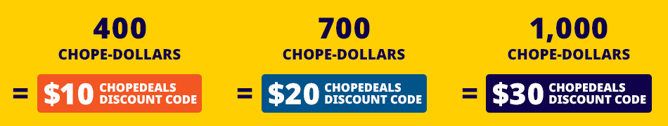 Chope-Dollars Redemption