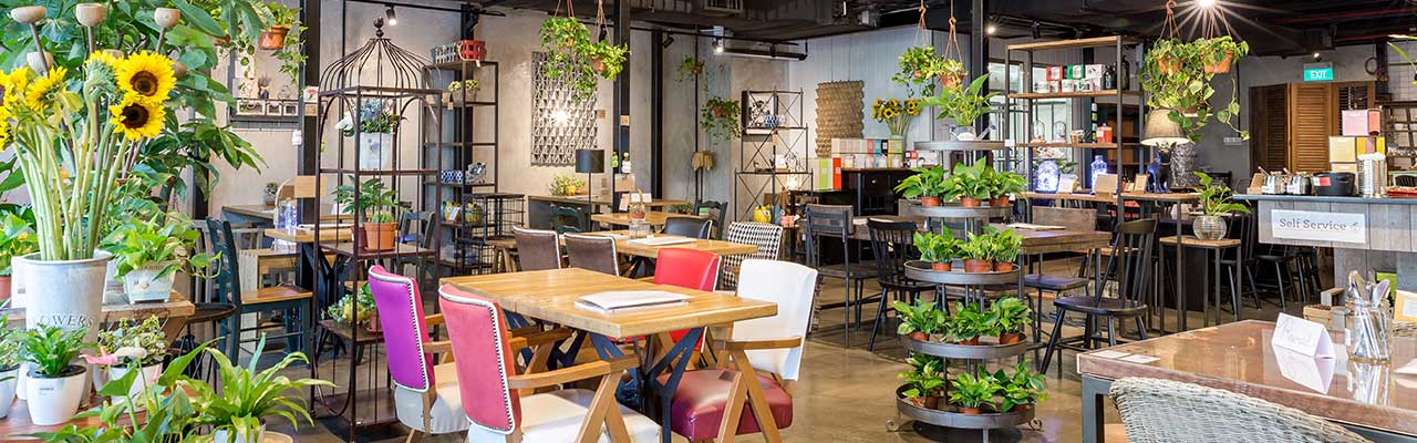 Knots Cafe and Living, Paya Lebar