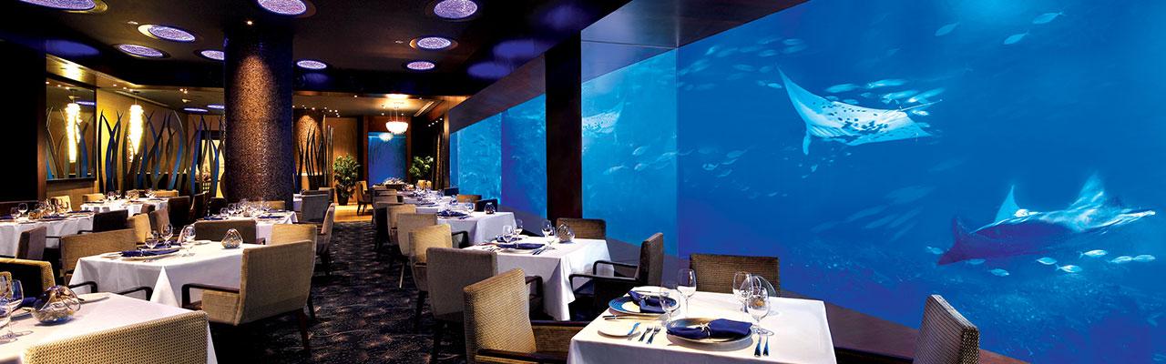 Ocean Restaurant, Sentosa