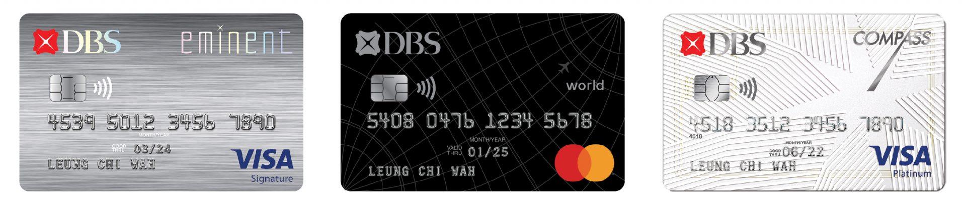 DBS Card Face