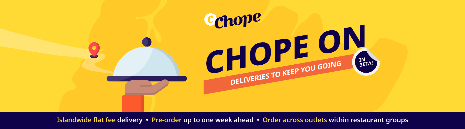 Chope On Delivery
