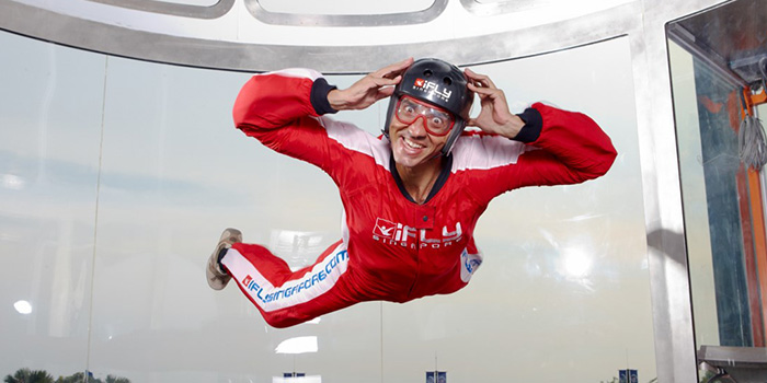 iFly Singapore booking