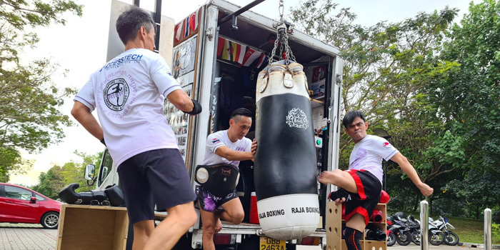 Muay Thai booking